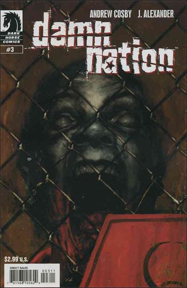 Damn Nation 3-A by Dark Horse
