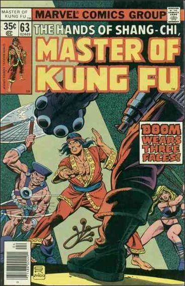 Master of Kung Fu 63-A by Marvel