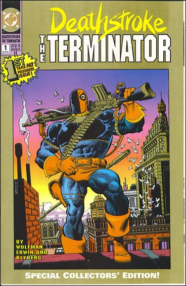 Deathstroke, the Terminator 1-B by DC