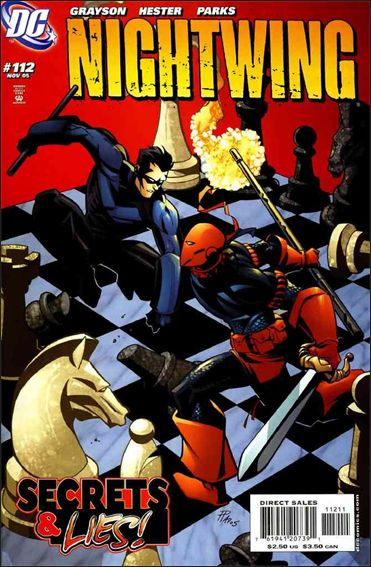 Nightwing (1996) 112-A by DC
