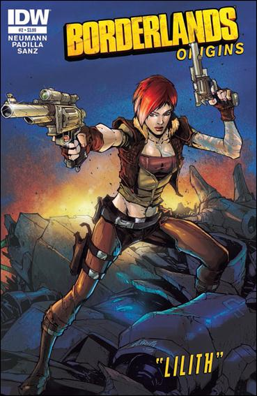 Borderlands: Origins 2-A by IDW