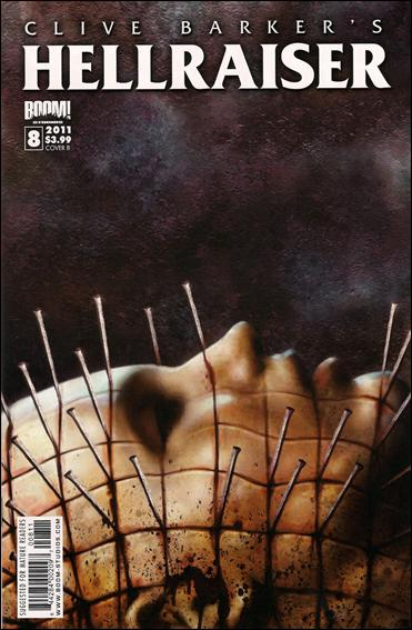 Clive Barker's Hellraiser (2011) 8-B by Boom! Studios