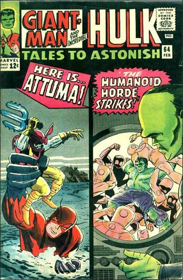 Tales to Astonish (1959) 64-A by Marvel
