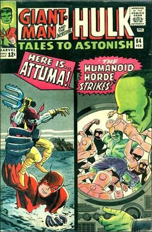 Tales to Astonish (1959) 64-A
