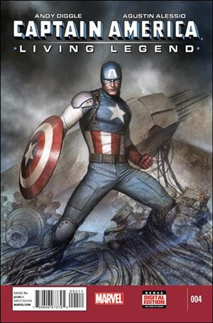 Captain America: Living Legend 4-A