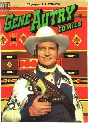 Gene Autry Comics (1946) 41-A