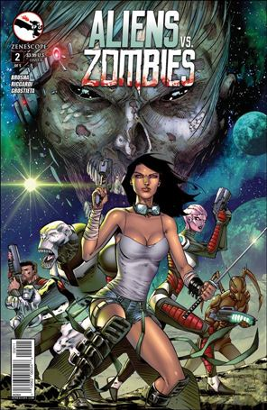 Aliens vs Zombies 2-A