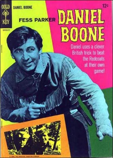 Daniel Boone 3-A by Gold Key