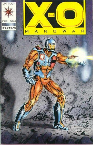X-O Manowar (1992) 1-A by Valiant