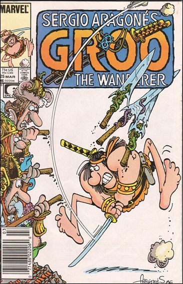 Sergio Aragones Groo the Wanderer 25-A by Epic