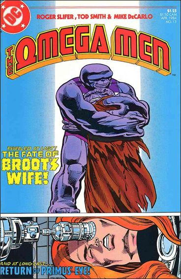 Omega Men (1983) 13-A by DC