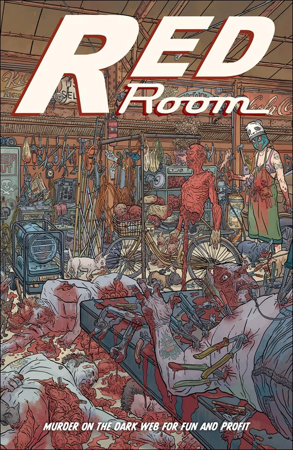 Red Room: The Antisocial Network 4-D by Fantagraphics