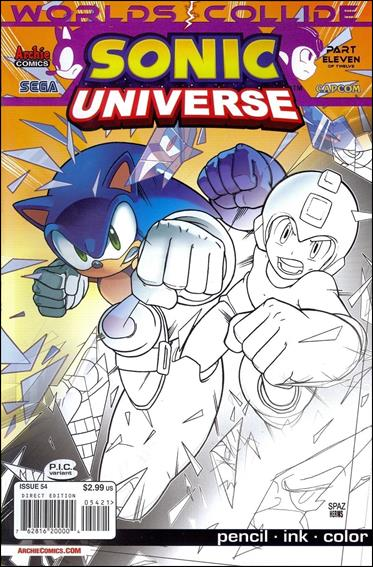 Sonic Universe 54-B by Archie