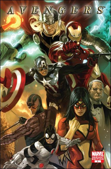 Avengers (2010) 1-C by Marvel