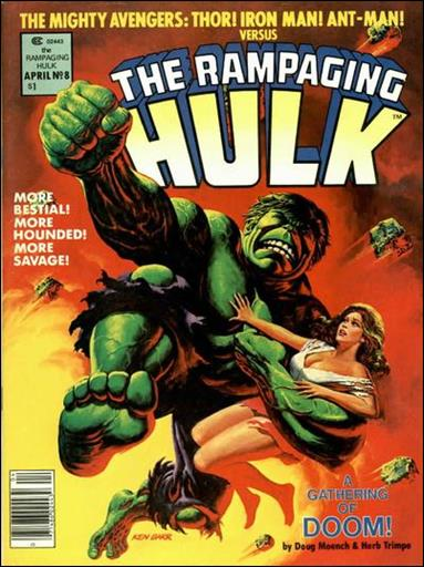 Rampaging Hulk (1977) 8-A by Marvel