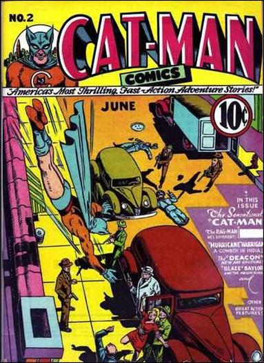 Catman Comics 2-A by Holyoke