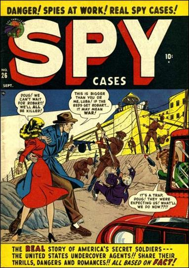 Spy Cases '26'-A by Marvel