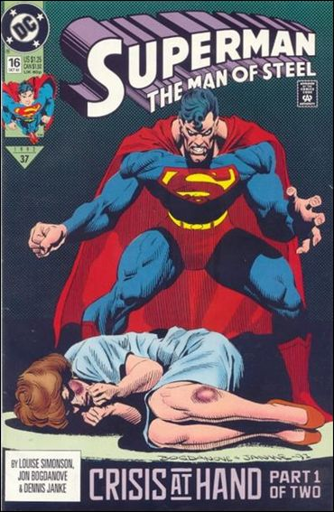 Superman: The Man of Steel 16-A by DC