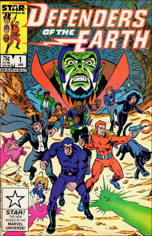 Defenders of the Earth 1-A by Star