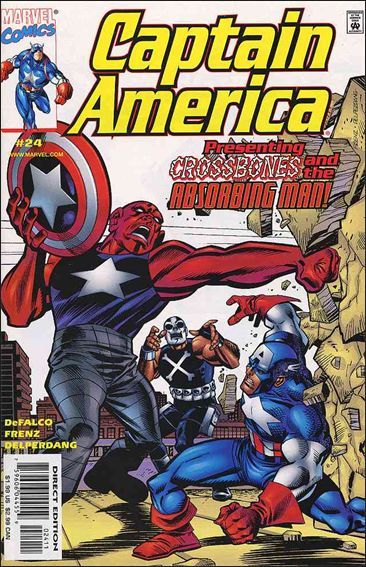 Captain America (1998) 24-A by Marvel