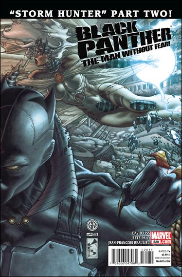 Black Panther: The Man Without Fear 520-A by Marvel