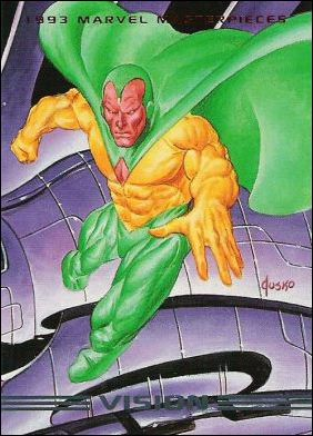 1993 Marvel Masterpieces (Base Set) 12-A by SkyBox