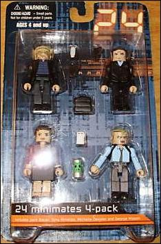 24 Minimates (Box Sets) Season 2 Box Set by Diamond Select