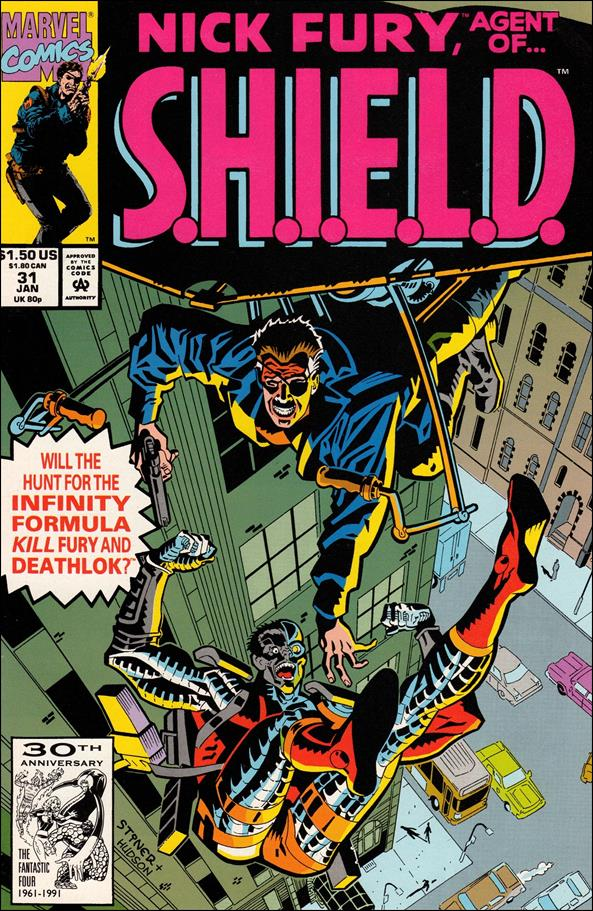 Nick Fury, Agent of S.H.I.E.L.D. (1989) 31-A by Marvel