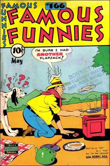 Famous Funnies (1934/07) 166-A by Famous Funnies
