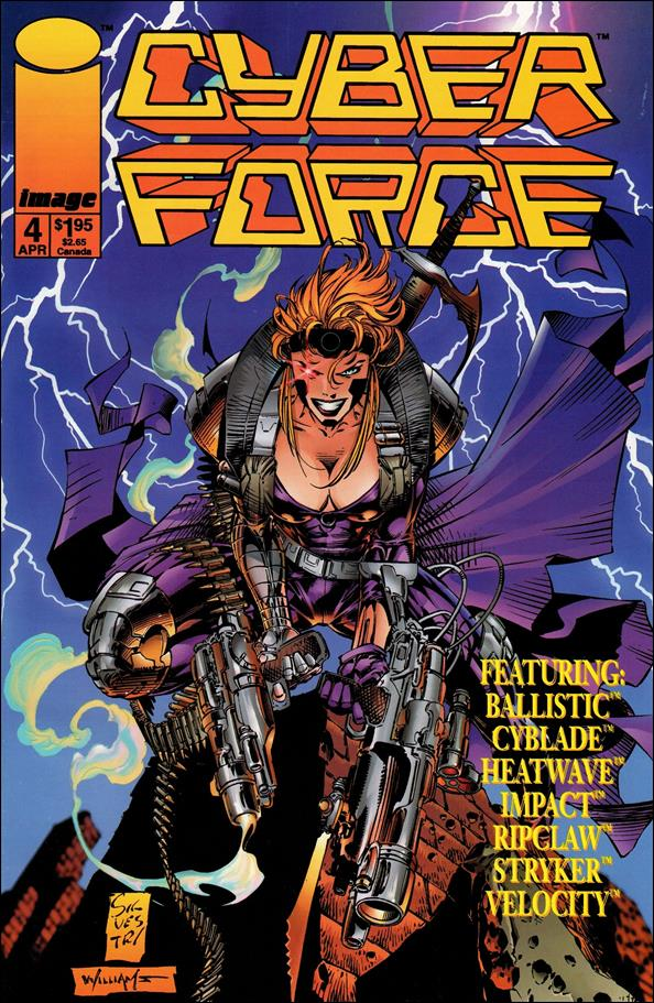 Cyberforce (1993) 4-A by Image