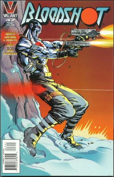 Bloodshot (1993) 47-A by Valiant