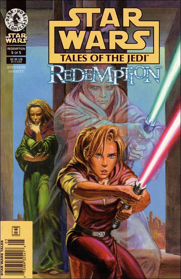 Star Wars: Tales of the Jedi - Redemption 5-A by Dark Horse