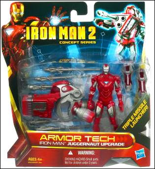 Iron Man 2 (Armor Tech) Iron Man - Juggernaut Upgrade (Concept Series) by Hasbro