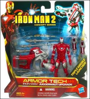 Iron Man 2 (Armor Tech) Iron Man - Juggernaut Upgrade (Concept Series)
