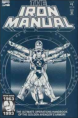 Iron Manual 1-A by Marvel