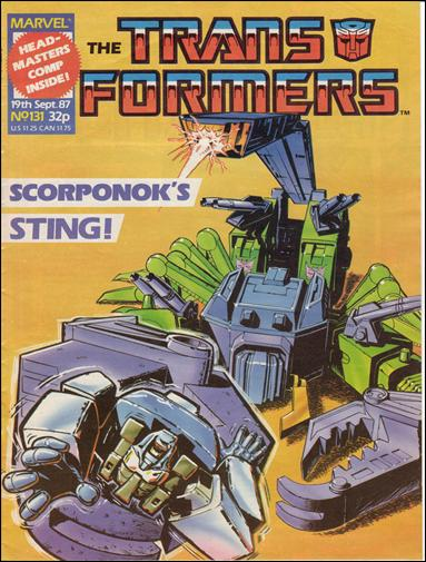 Transformers (UK) 131-A by Marvel UK