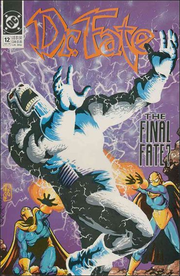 Doctor Fate (1988) 12-A by DC