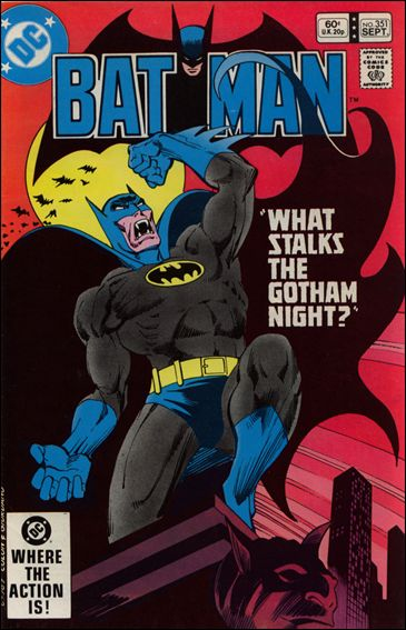 Batman (1940) 351-A by DC