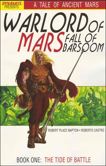 Warlord of Mars: Fall of Barsoom 1-A by Dynamite Entertainment