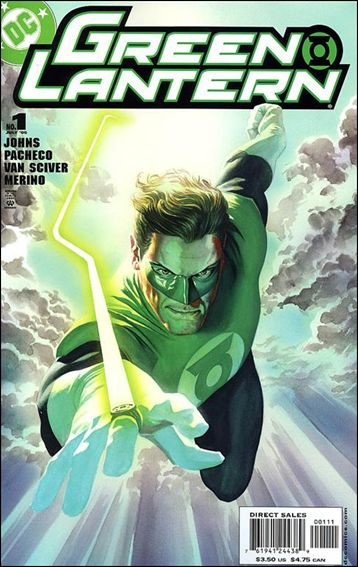 Green Lantern (2005) 1-B by DC