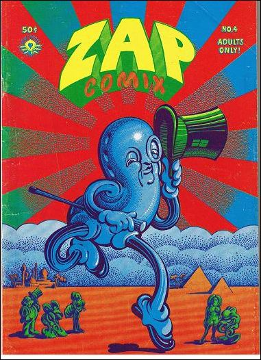 Zap Comix 4-A by Last Gasp