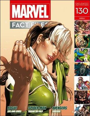 Marvel Fact Files 130-A