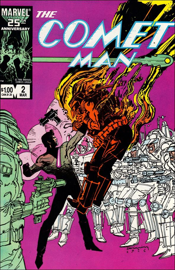 Comet Man 2-A by Marvel