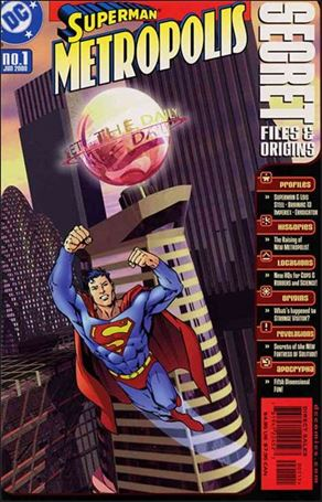 Superman Metropolis Secret Files 1-A