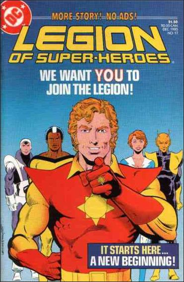 Legion of Super-Heroes (1984) 17-A by DC