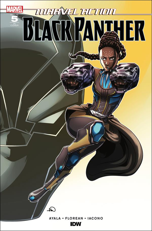 Marvel Action: Black Panther 5-B by IDW