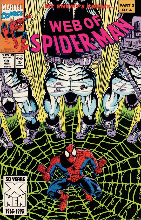 Web of Spider-Man (1985) 98-A by Marvel