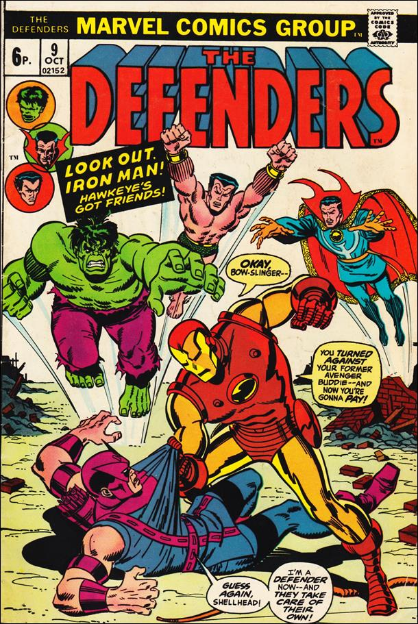 Defenders (1972) 9-B by Marvel