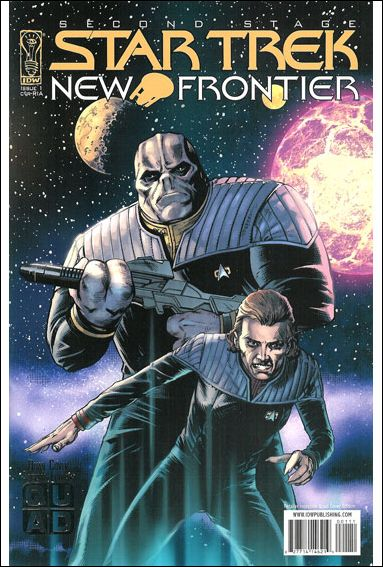 Star Trek: New Frontier 1-B by IDW