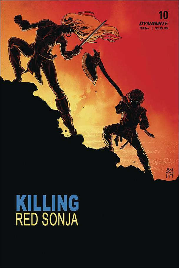Killing Red Sonja 4-B by Dynamite Entertainment